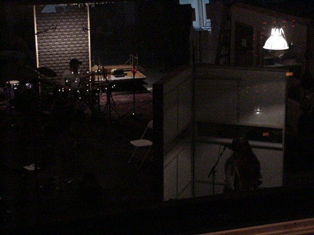 Thin Twisting Line recording session at Indre - session 1